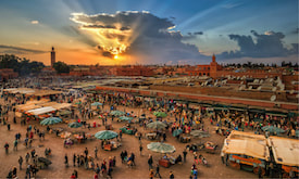 Agadir to Marrakech trip excursion tour