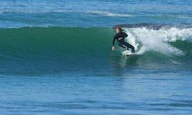 Surfing in Agadir, Surfing Taghazout