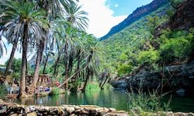 Agadir to Paradise Valley trip excursion tour